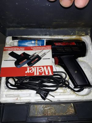 Weller soldering iron for Sale in Gastonia, NC