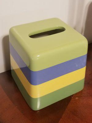 Ceramic tissue box for Sale in Tampa, FL