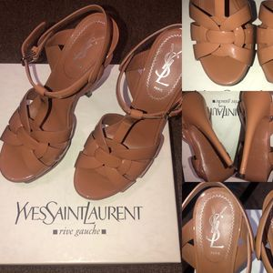 YSL Yves Saint Laurent Tribute Nude Patent Leather, Orig $895 for Sale in Hollywood, FL