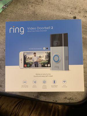 Ring doorbell 2 for Sale in Fairfax, VA