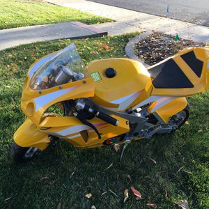 New X1 49cc Pocket Bike! Unique Christmas Present or Gift. for Sale in Walnut Creek, CA