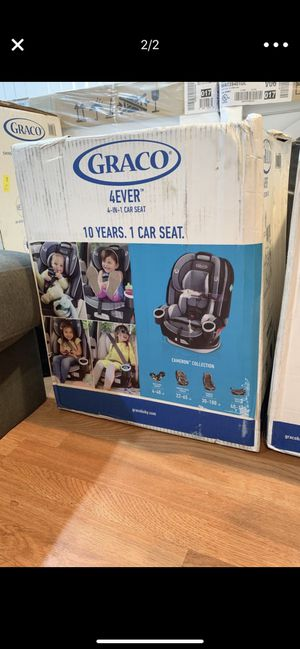 Brand new in box GRACO 4ever 4in 1 car seat Ages 1-10 for Sale in Washington, DC