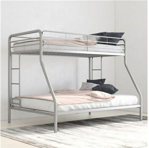 Twin over full metal bunk bed for Sale in Inman, SC