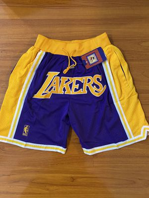 Lakers Just Don Shorts Kobe Bryant LeBron James for Sale in La Puente, CA