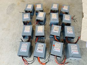 HUGE LOT OF 16 SQUARE D SCHNEIDER ELECTRIC TRANSFORMERS for Sale in Mukilteo, WA