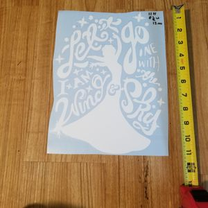 Disney's Frozen Decal for Sale in Rising Sun, IN