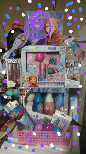 A beautiful Frozen Easter basket serious buyers only candy and wrapping will be included as order thank you for Sale in Baldwin Park, CA