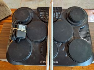 Pyle PTED01 ELECTRONIC DRUM SET for Sale in St. Louis, MO