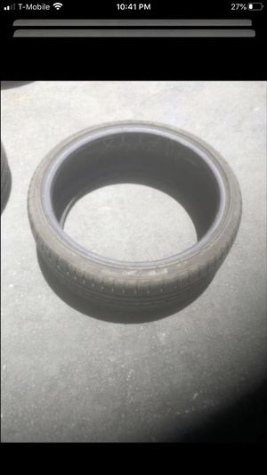 Two tires 215/35/19 accelera 95% tread and 215/35/19 diamond back 60% tread for Sale in Temecula, CA