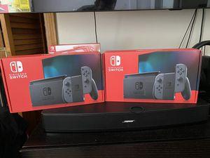 Brand new Nintendo Switch Grey Joycons / 32 GB for Sale in Boston, MA