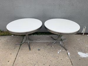 Circular Restaurant Cafe Bar Tables x2 for Sale in Brooklyn, NY