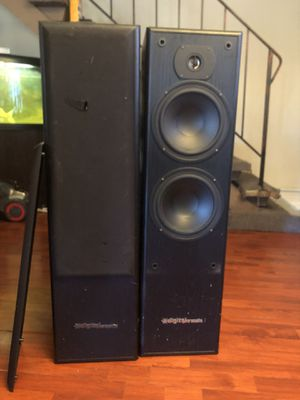 Digital pro audio twin speakers for Sale in Redwood City, CA