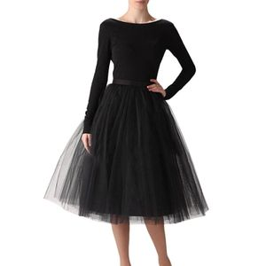 Wedding Planning Women's A Line Short Knee Length Tutu Tulle Prom Party Skirt M for Sale in Las Vegas, NV