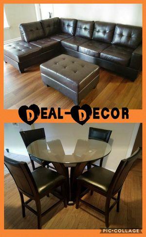 Brown 2 Room Combo Set for Sale in Marietta, GA