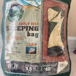 Ozark Trail Sleeping Bag With Headrest for Sale in Sanford, NC