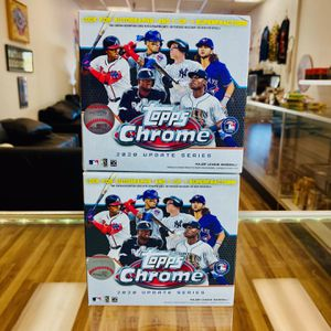 TOPPS CHROME BLASTER 2020 UPDATE for Sale in Hollywood, FL