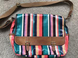 FOSSIL vinyl messenger bag!!RARE for Sale in Schiller Park, IL