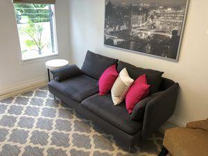 Modern Dark Grey Couch / Sofa for Sale in Miami, FL
