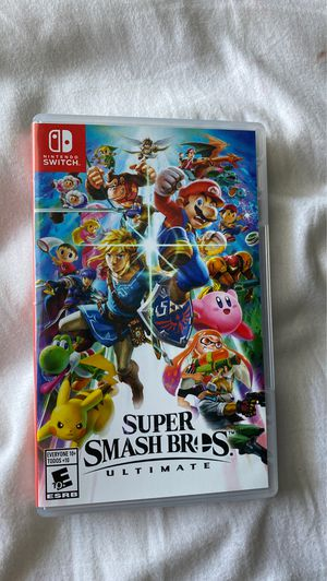 Nintendo Switch Super Smash Bros. Ultimate for Sale in Annandale, VA