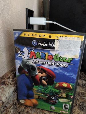 MARIO GOLF TOADSTOOL TOUR GAME CUBE GAME for Sale in Saginaw, TX