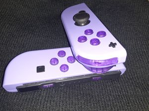 Custom purple joycons for Sale in Medford, OR