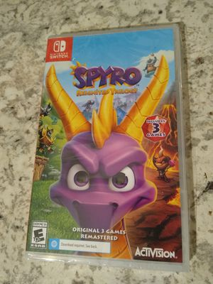 Spyro Nintendo switch game for Sale in Spring, TX
