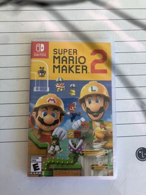 Super Mario 2 maker new seal Nintendo switch for Sale in San Jose, CA