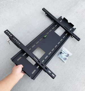 "(NEW) $25 Large TV Wall Mount 50""-80"" Slim Television Bracket Tilt Up/Down, Max 165lbs for Sale in South El Monte, CA"
