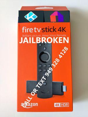 Brand New fire tv 3rd gen 4k stick for Sale in Irvine, CA