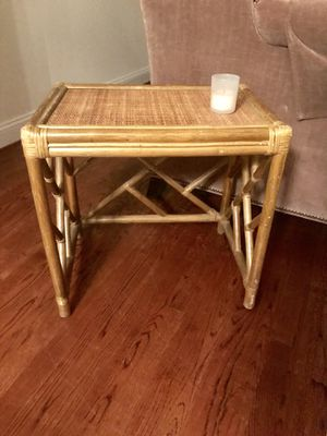 Bamboo Side Table for Sale in Washington, DC