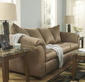 İn stock🍀SAME DAY DELİVERY🍀SPECIAL] Darcy Mocha sofa for Sale in Jessup, MD