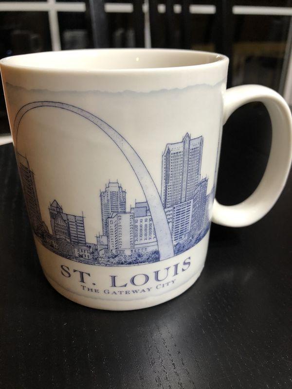 Starbucks St Louis Architectural Mug