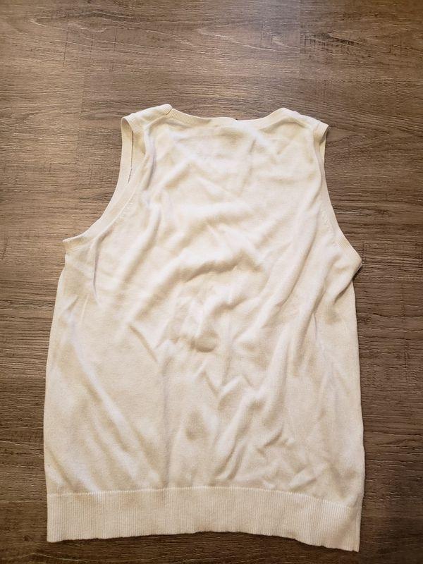 ANN TAYLOR LOFT Women size SP sleeveless sweater