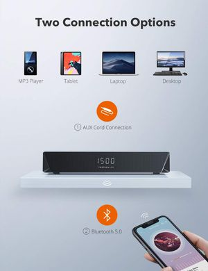 TaoTronics Gaming Computer Speaker, Dual Powerful 7W Drivers PC Soundbar for Sale in San Jose, CA
