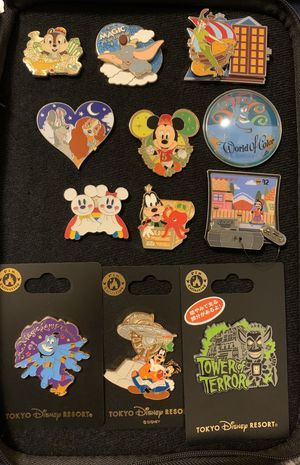 Disney pins for sale or trade for Sale in Los Angeles, CA