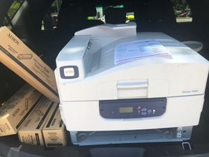 Xerox Phaser 7400 Workgroup Laser Printer with 4 Cartridges for Sale in Newport News, VA