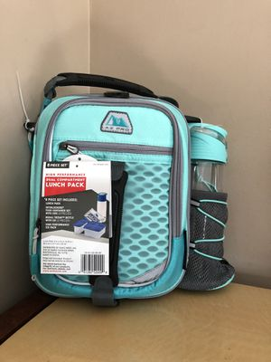Arctic Zone Pro, High-Performance Dual Compartment Lunch Box (Teal) for Sale in Hightstown, NJ
