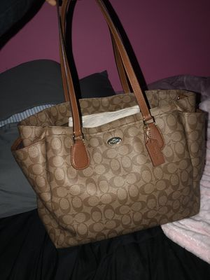 Coach diaper bag and wallet for Sale in Chicago, IL