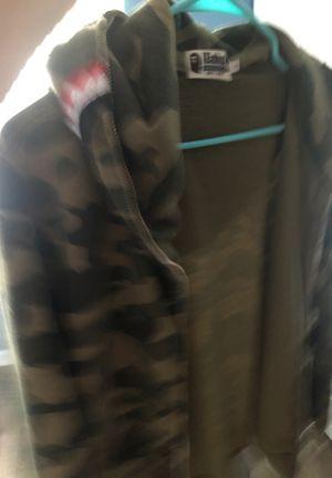 Authentic bape hoodie read description for Sale in Schaumburg, IL