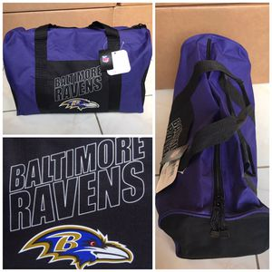 New! Baltimore Ravens Gym Duffle Bag for Sale in Miami Gardens, FL