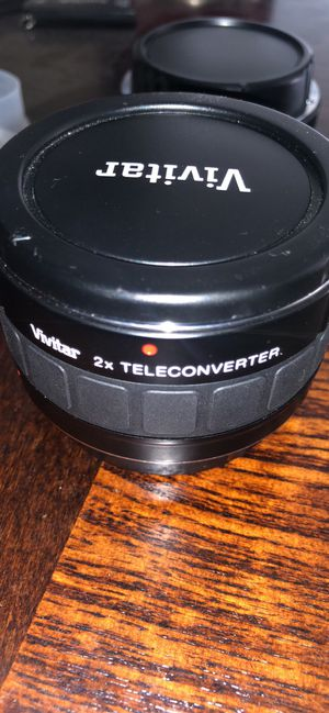 Vivitar Series 1 4-Element 2x Teleconverter Lens For Canon for Sale in Wylie, TX