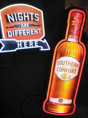 southern comfort 3-D neon light for Sale in Kennewick, WA