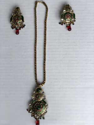 Beautiful traditional Rajasthani costume jewelry set for Sale in Clarksburg, MD