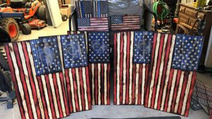 Wooden American Flags (Customizable!) for Sale in FX STATION, VA