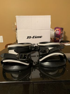 BRAND NEW B-Line Snowboard Bindings w/ Original Box and Accessories for Sale in Brookfield, CT