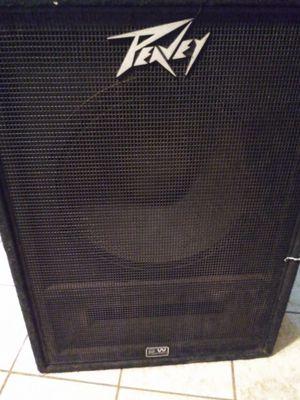 "Peavey 18"" speaker's 2 cabinets. for Sale in Odessa, TX"