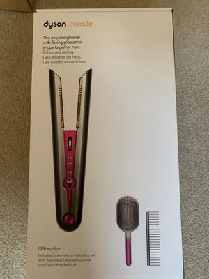 dyson corrale hair straightener (gift edition) - brand new! for Sale in Seattle, WA