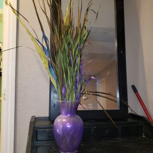 Decorative fake plants and vase for Sale in Henderson, NV