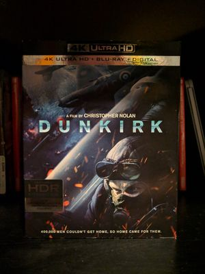 Dunkirk 4K/Blu-ray (Code Used) for Sale in Chicago, IL