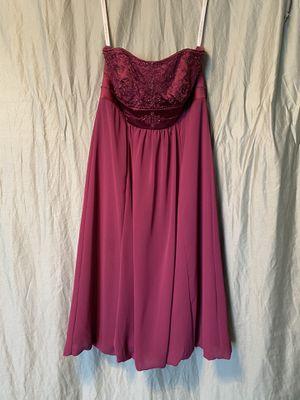 Short purple beaded dress size 2 for Sale in Wylie, TX